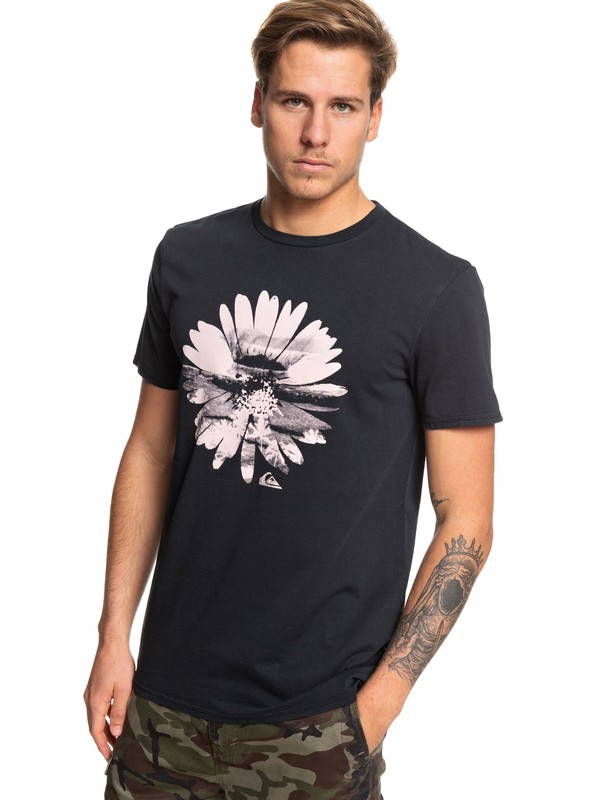 0 Flowers In The Dirt Tee Black EQYZT05363 Quiksilver