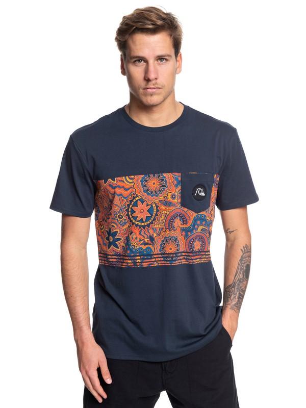 0 Camiseta con Bolsillo - Dreamer Azul EQYZT05370 Quiksilver