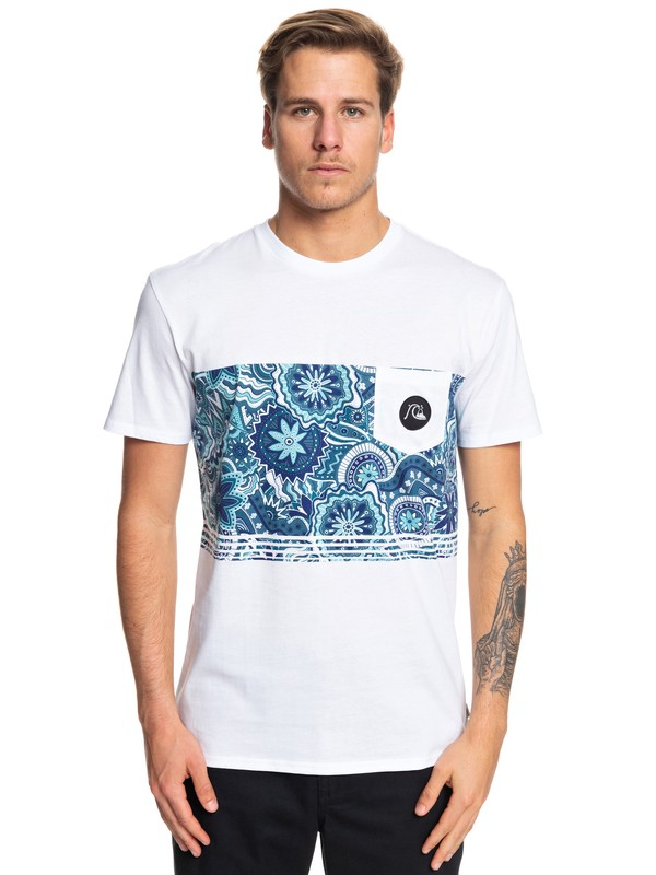 0 Dreamer Pocket Tee White EQYZT05370 Quiksilver