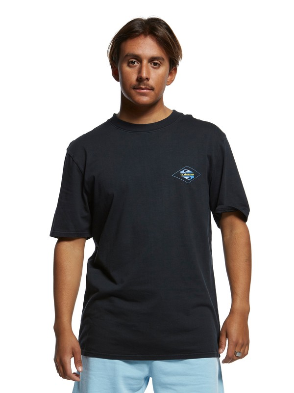 0 Inside Out Tee Black EQYZT05376 Quiksilver