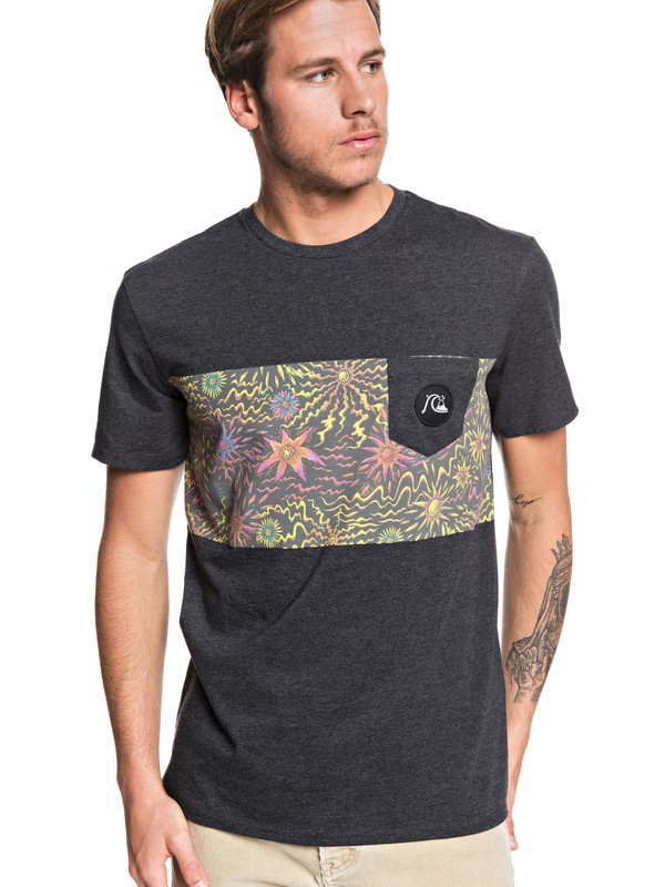 0 Tripper Pocket Tee Black EQYZT05430 Quiksilver