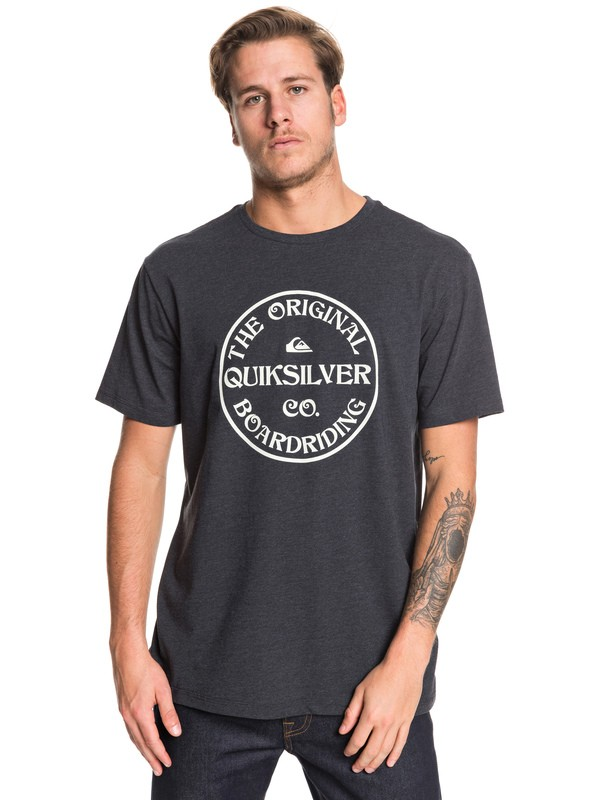 0 Recycled World Tee Black EQYZT05444 Quiksilver