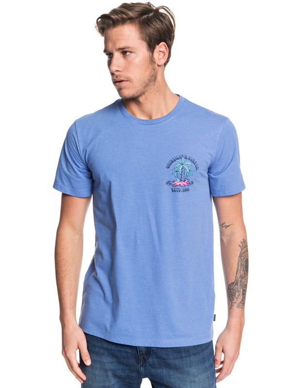 0 Above The Up - Camiseta para Hombre Azul EQYZT05446 Quiksilver