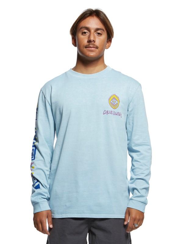 0 Originals Paradise Long Sleeve Tee Blue EQYZT05470 Quiksilver