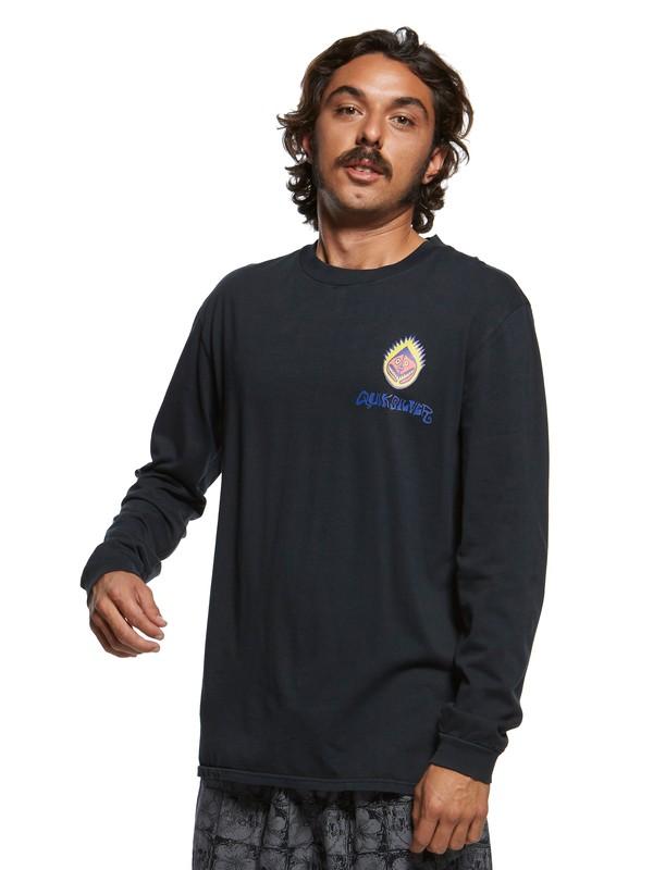 0 Originals Paradise - Long Sleeve T-Shirt Black EQYZT05470 Quiksilver