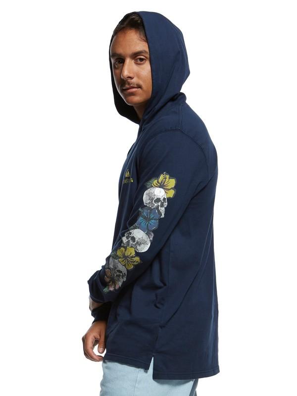 Originals Skull Chain - Long Sleeve Hooded T-Shirt for Men  EQYZT05472