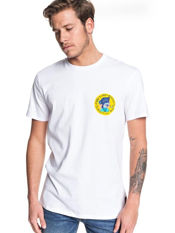 0 Art House - T-Shirt White EQYZT05534 Quiksilver