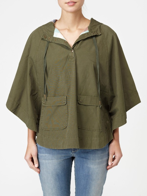 0 BACKWOODS PONCHO  G07026 Quiksilver