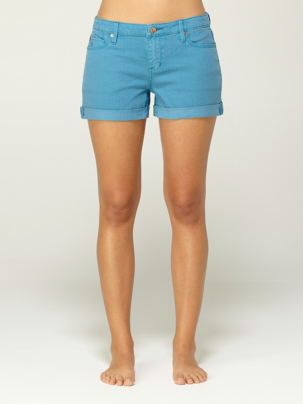 0 Gypsy Tour Turkish Teal Shorts  G11102 Quiksilver