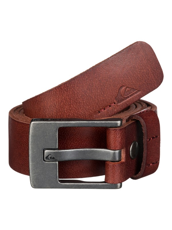0 Section Leather Belt  UQYAA03137 Quiksilver
