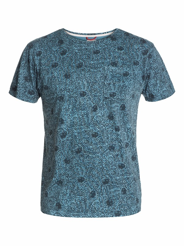 0 Worms In The Brain Modern Fit T-Shirt  UQYZT03088 Quiksilver