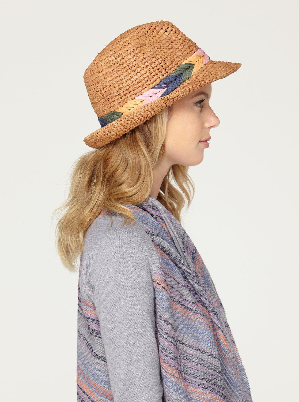 1287c15badf310 2 Witching Straw Hat 449D68 Roxy