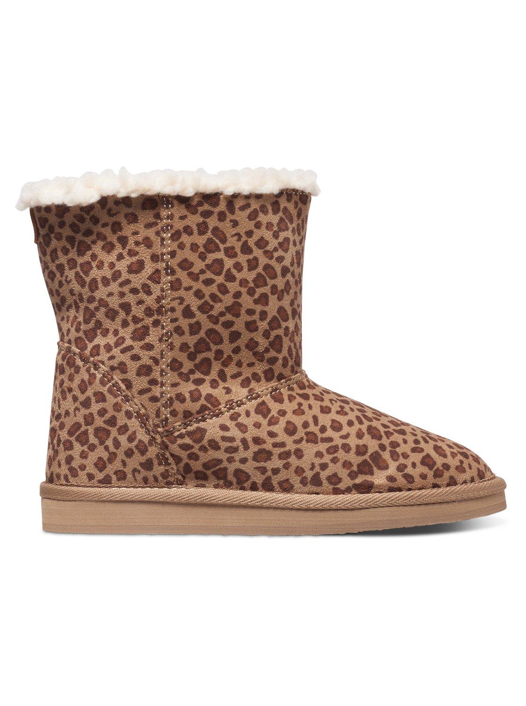 e4063c9f442f 3 Girl's 7-14 Molly Faux Suede Boots ARGB700021 Roxy