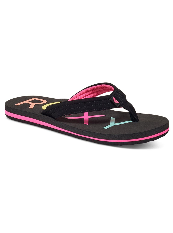 f7a47a4b2 0 Girl s 7-14 Vista Sandals ARGL100115 Roxy