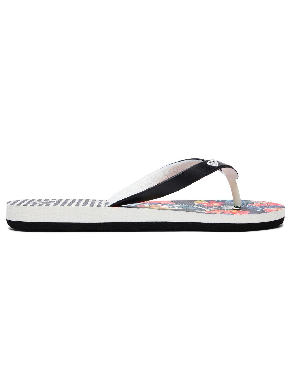 6ce09d4e3 1 Girl s 7-14 Tahiti Flip-Flops Black ARGL100181 Roxy