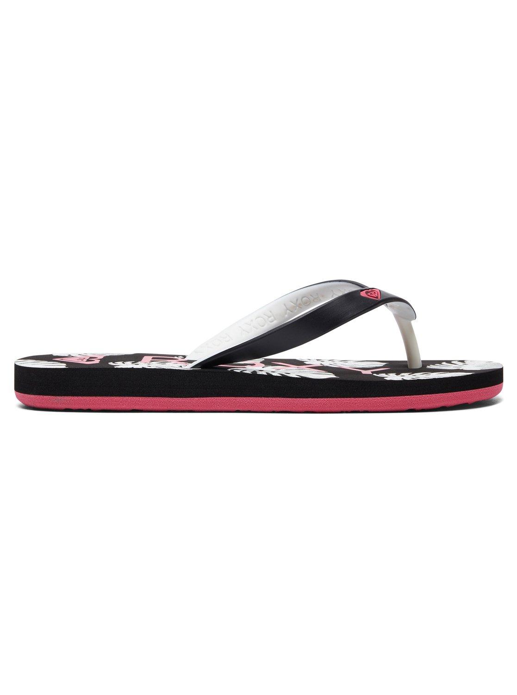 5ab9f6cee 1 Tahiti VI - Flip-Flops for Girls Black ARGL100181 Roxy