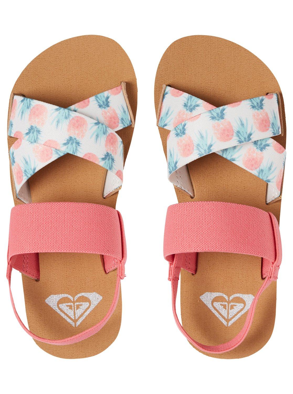 fdb6ac0dd835 Roxy™ Girl s 7-14 Cove Elastic Multi-Strap Sandals ARGL200062
