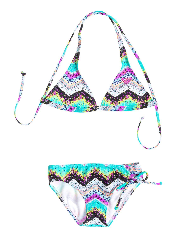 5bc8ec83f71e7 0 Girls 7-14 Sea Hippie Criss Cross Halter Set With Cups Swimsuit  ARGX200025 Roxy