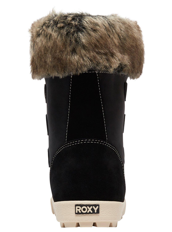 1d057249d63ef 4 Rainier - Botas de invierno impermeables para Mujer Negro ARJB300018 Roxy