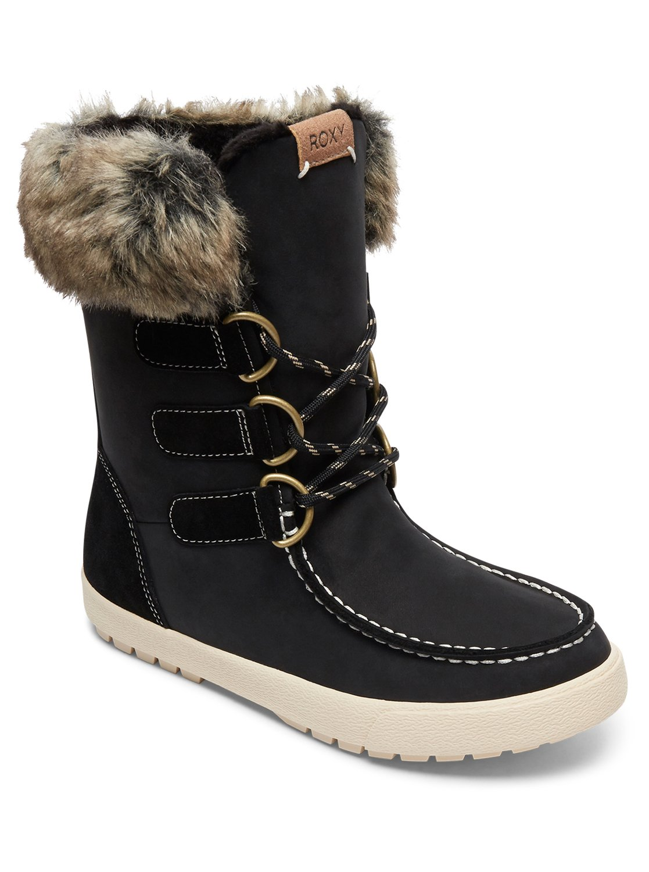 ef35dada86275 0 Rainier - Botas de invierno impermeables para Mujer Negro ARJB300018 Roxy