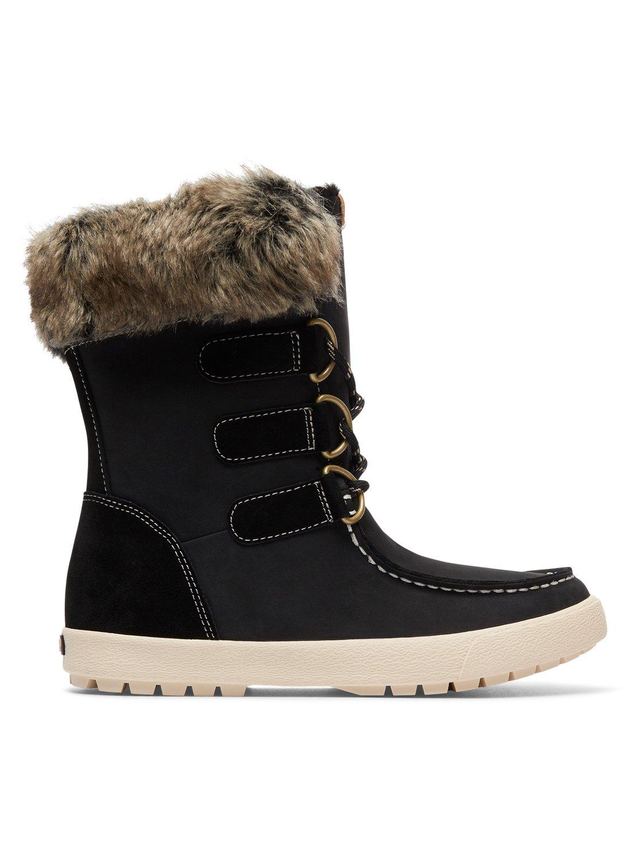 fb8a843302676 1 Rainier - Botas de invierno impermeables para Mujer Negro ARJB300018 Roxy
