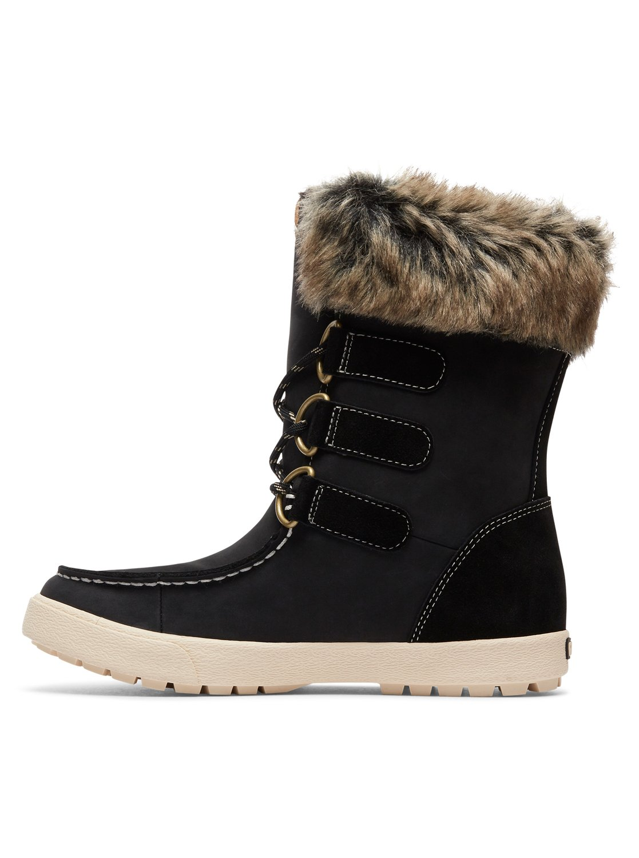 11d53153203 2 Rainier - Botas de invierno impermeables para Mujer Negro ARJB300018 Roxy