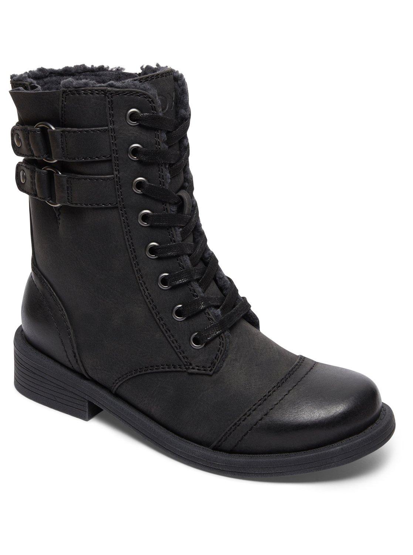 2930405502ac2 0 Dominguez - Botas para Mujer Negro ARJB700543 Roxy