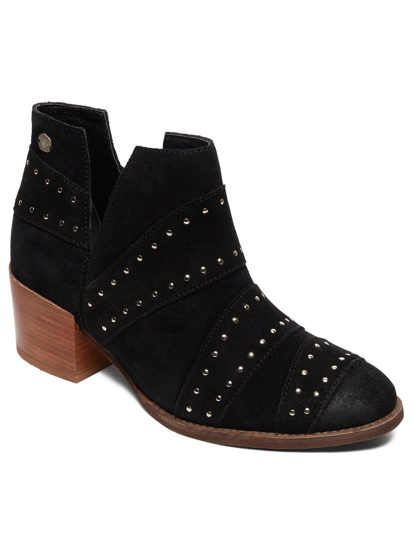 866b3edc3 0 Lexie Ankle Suede Boots Black ARJB700567 Roxy