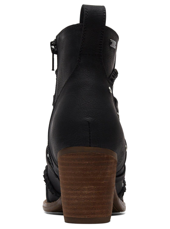 0f02e02309c4 4 Mackay Heeled Boots Black ARJB700595 Roxy