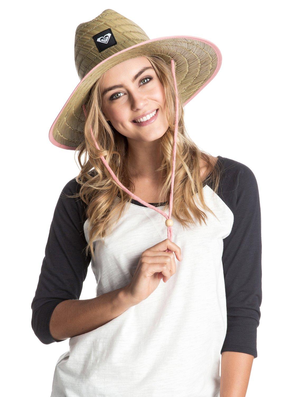 b5d41ed35662b6 1 Tomboy Straw Hat ARJHA03106 Roxy