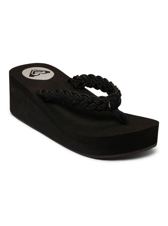 3ea186d69 0 Tidal Wave Wedge Sandal ARJL100127 Roxy