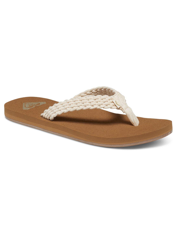 69d95f2d01a5 0 Porto Sandals White ARJL100397 Roxy