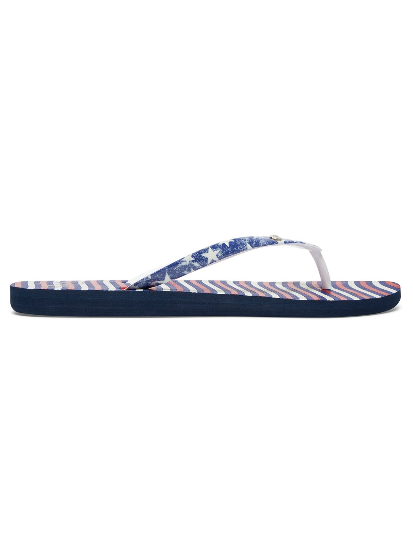1f1213397 1 Portofino Flip-Flops Red ARJL100551 Roxy