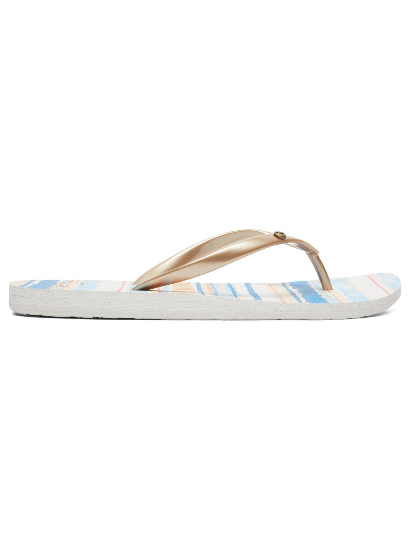 a198a8783 1 Portofino Flip-Flops Blue ARJL100668 Roxy