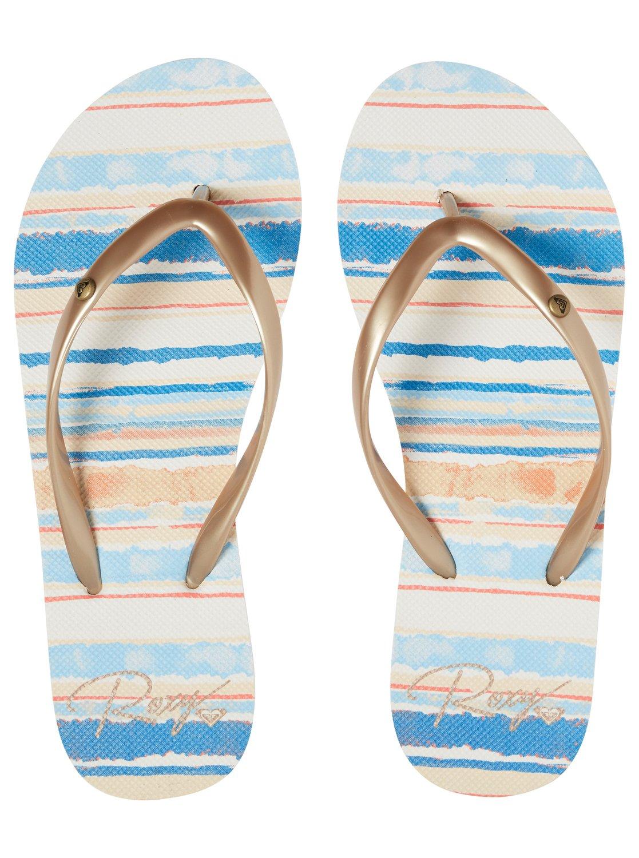 1b4b752f6 2 Portofino Flip-Flops Blue ARJL100668 Roxy