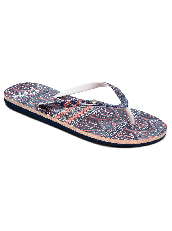 0077cf0e54aacf 0 Portofino - Slippers voor Dames Blue ARJL100668 Roxy