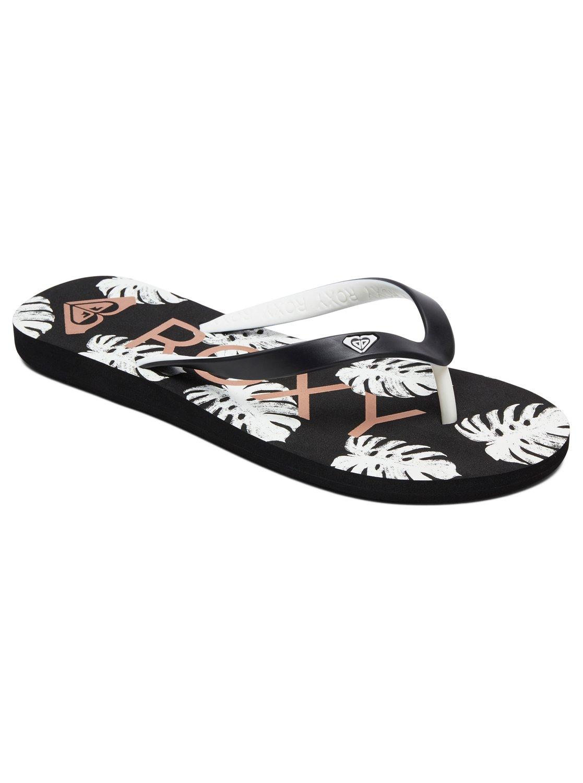 98b773ccf 0 Tahiti Flip-Flops Black ARJL100669 Roxy
