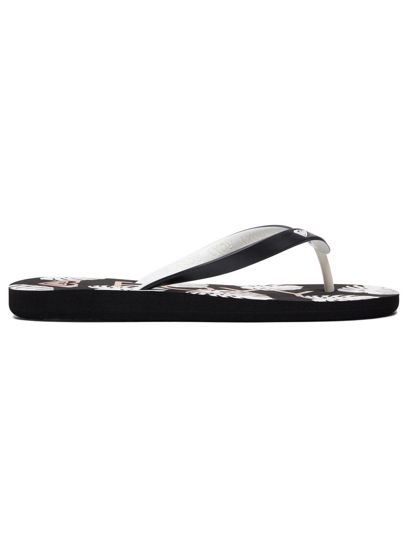6fee95284 1 Tahiti Flip-Flops Black ARJL100669 Roxy