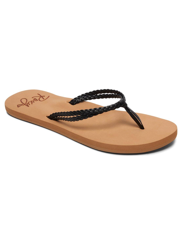 92345f4d2c64 0 Costas Sandals Black ARJL100763 Roxy