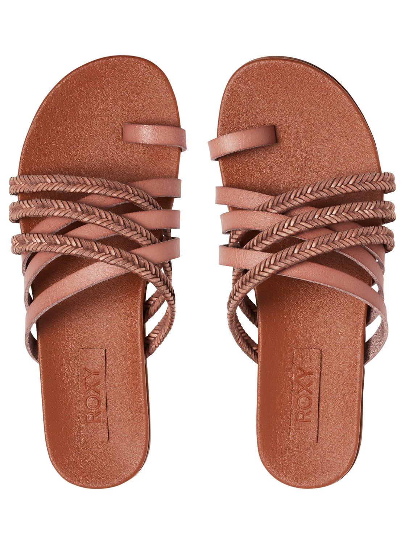 0230f8dc8a3d Roxy™ Esme Multi-Strap Leather Sandal for Women ARJL200688