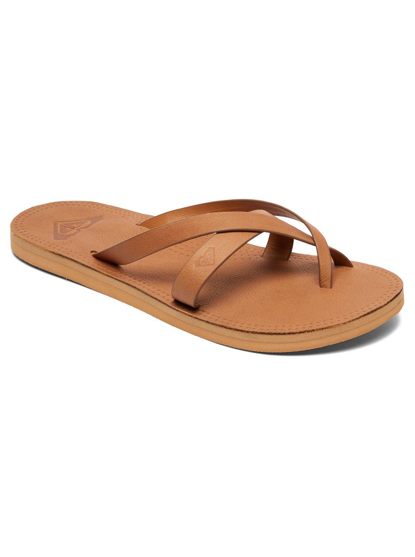 e829783f3944 Roxy™ Gemma - Leather Sandals - Women - US 7 - Brown
