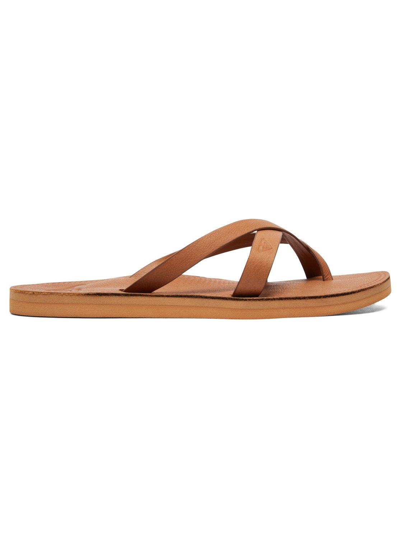 314890970601 Roxy-Gemma-Leather-Sandals-for-Women-ARJL200690 thumbnail 10