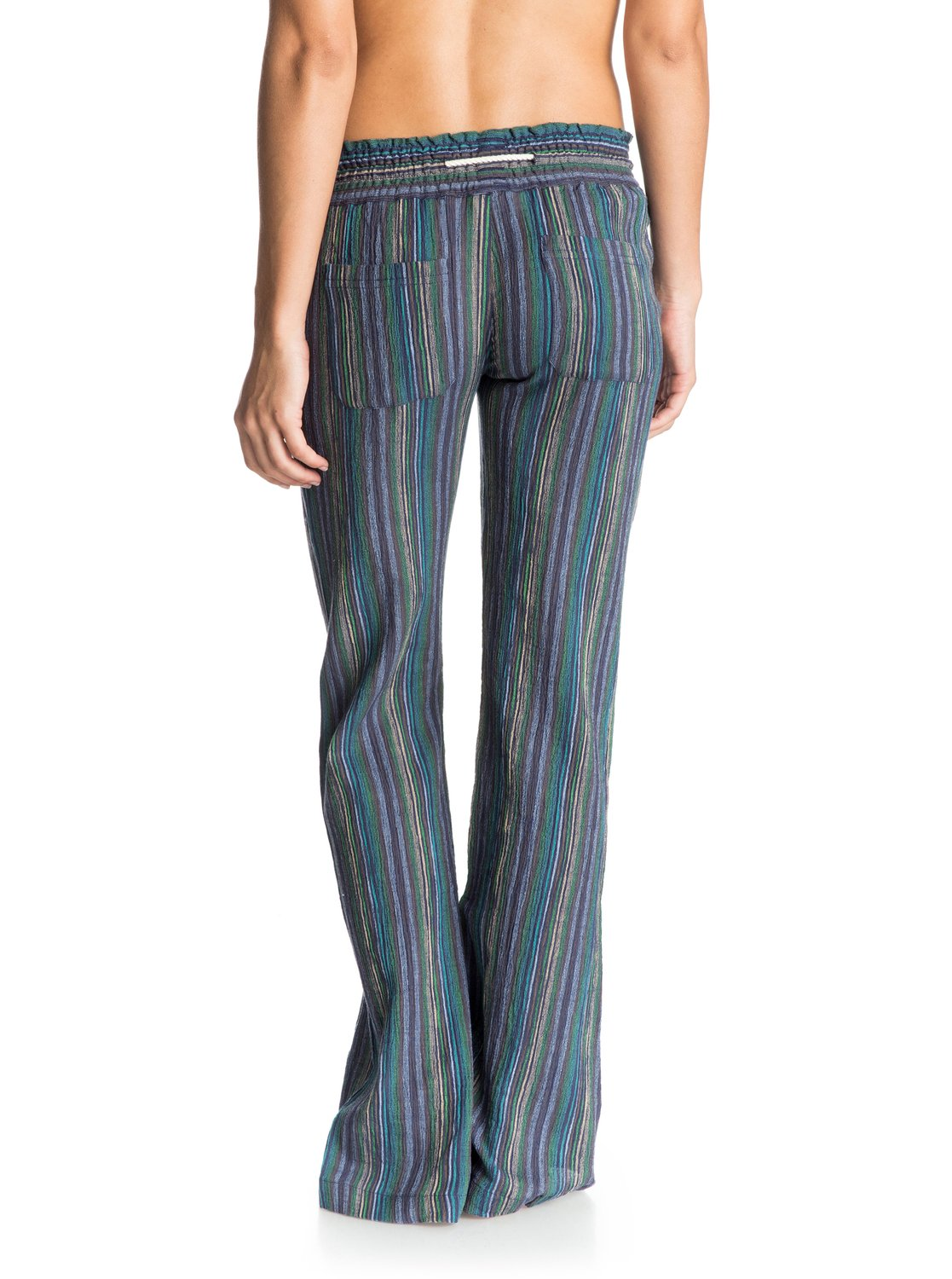 6d0bbba0c6 2 Oceanside Stripe Beach Pants ARJNP03071 Roxy