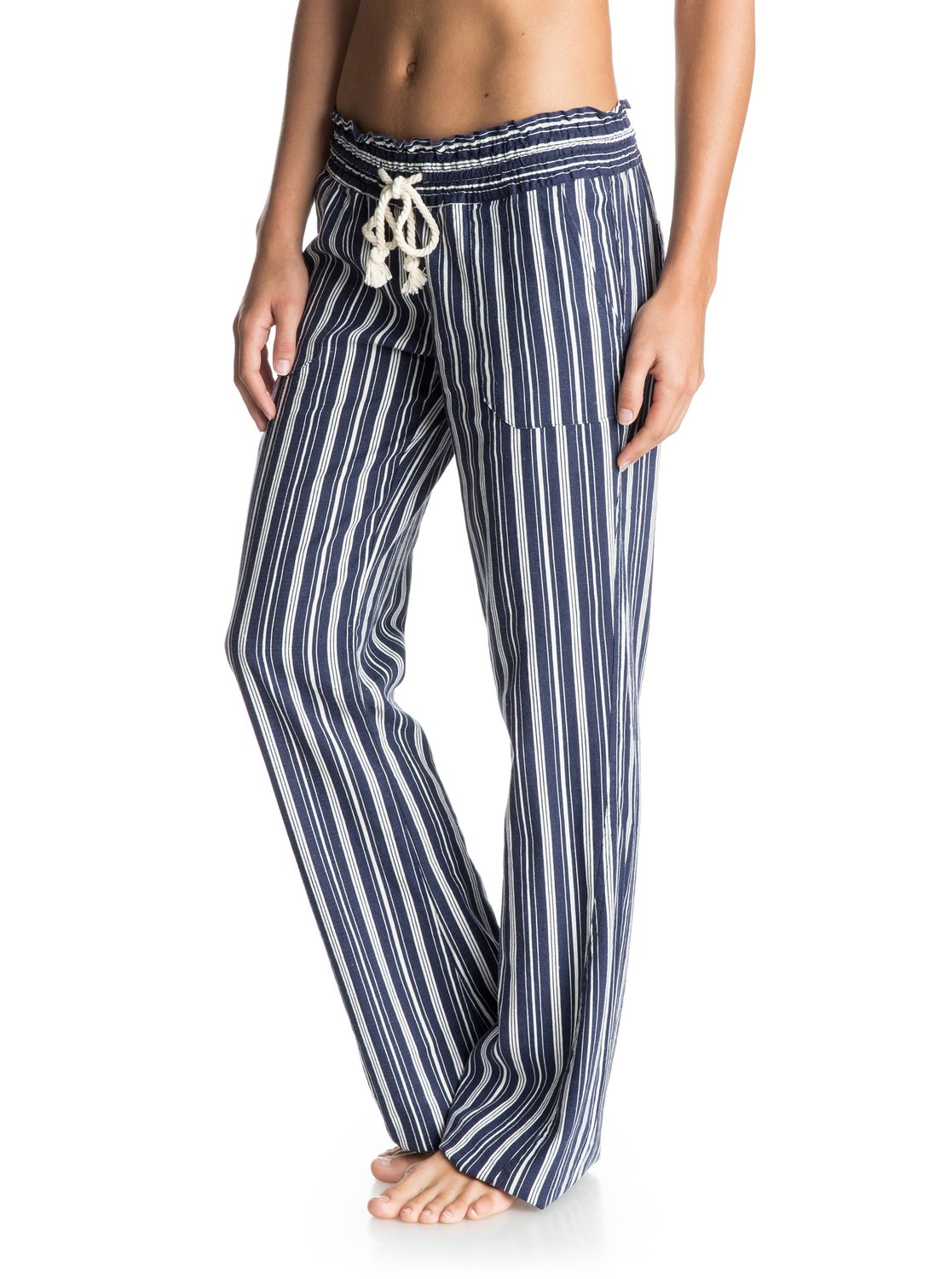 ee76be05de 1 Oceanside Stripe Beach Pants ARJNP03086 Roxy