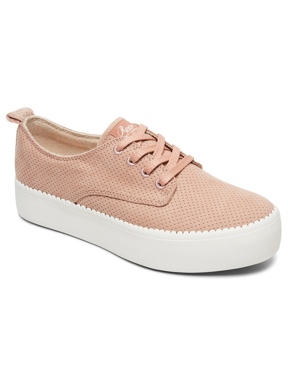 28ecdec0f613ba 0 Shaka Platform Shoes Red ARJS300312 Roxy