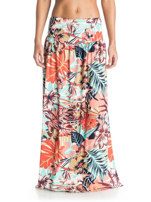 56608f93240 0 Lola Maxi - Floral Print Maxi Skirt ARJWK03019 Roxy