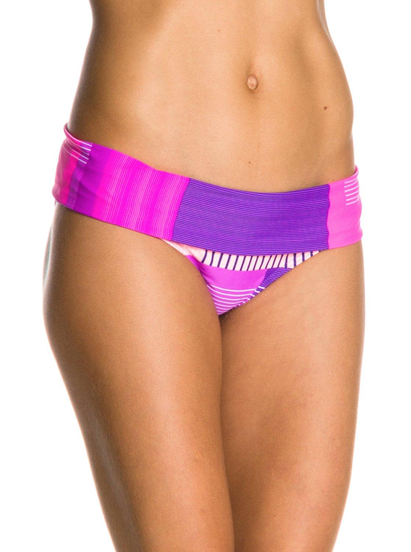 886eb865660 Sunshine Daze Foldover Boy Short Bikini Bottoms ARJX400038 | Roxy