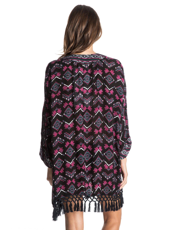 1ec53d8d99 1 Traveling Gypsy Kimono Cover Up ARJX603060 Roxy
