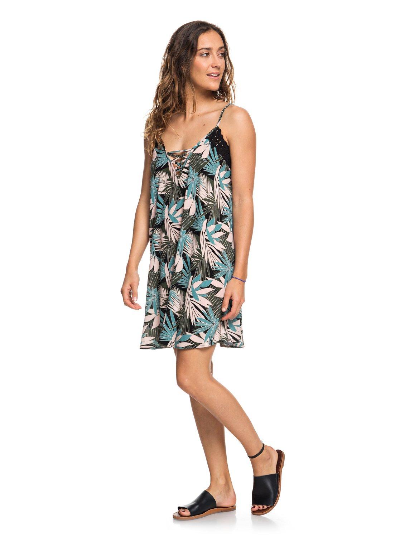 9bf23a411b5 0 Taste Of Sea Strappy Beach Dress ARJX603106 Roxy