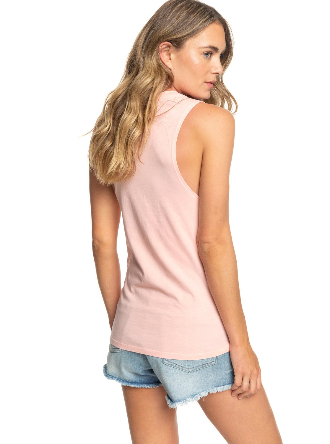 07be7e4e687963 3 ROXY Canyon Sleeveless Tee Pink ARJZT05188 Roxy